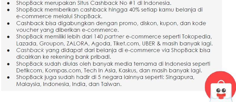 Keunggulan Shopback